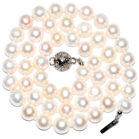 Fresh Water Pearl Round 7-8MM Hi-Lustre Necklace