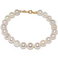 Japanese Akoya Pearl Simple 7-7.5MM Bracelet