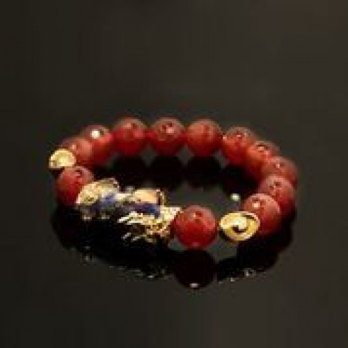 Chameleon Piyau With Carnelian Gemstone