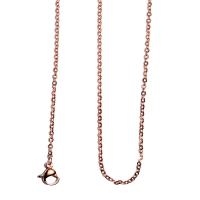 Stainless Steel Rose Gold Chain Necklace