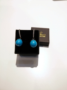 H/M Turquoise Earring